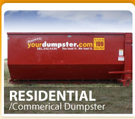 Weston Lakes dumpster rental